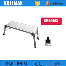 Lightweight Portable Aluminium Work Platform Ladder
