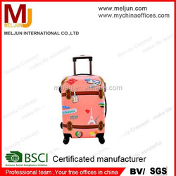 2015 factory ABS trolley luggage and suitcase , carry-on travel luggage