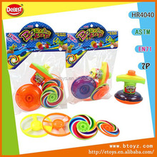 Brilliant Colors Spinning Top