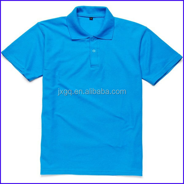 Wholesale Blank T Shirts Athletic Fit T Shirts Polo Neck