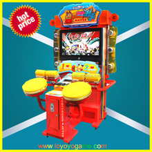 Percussion Master simulator music and popular drum coin operate game machine