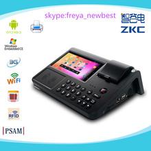 "android pos terminal with 7"" touch screen/Free SDK/printer/sim card/rfid reader"