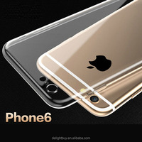 Soft TPU Silicone phone case protect camera for iphone 6 6s 4.7 inch