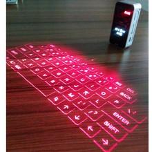 latest LED laser wireless keyboard/ laser projector keyboard mouse