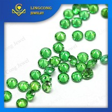 factory price wholesale high quality emerald cz gems