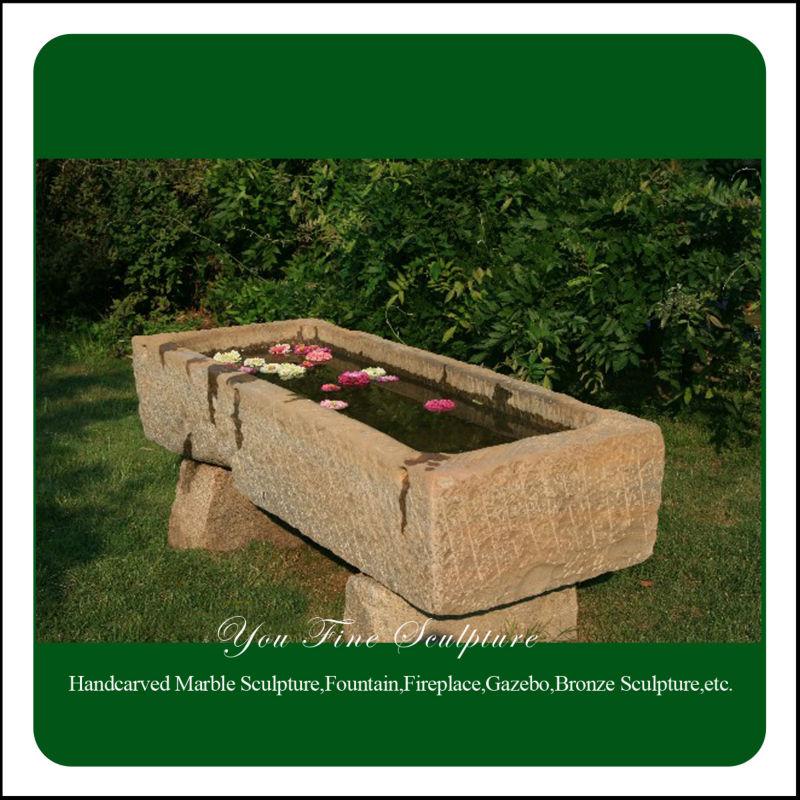 Naturali di alta qualità vasca in pietra antica per il giardino ...