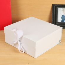 Handmade white boxes for baby product