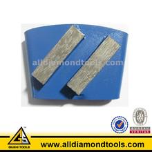 Double Segments Granite Grinding Tooles for Grinding Concrete Floor