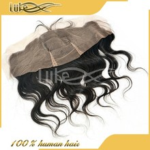 Most popular hair style Lace closure bleached knots
