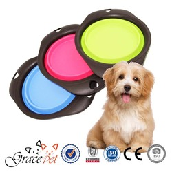 Grace Pet - dog collapsible travel bowl for feeding and drinking