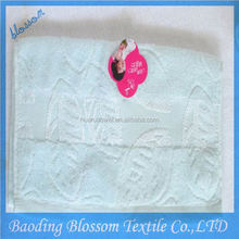 Blossom promotional 100 percent cotton turkish bath towels 40 x 70 with high quality