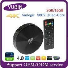 Round S82 quad core android smart full hd 1080p porn video android tv box 4.4