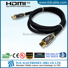 wholesale best price gold HDMI Cable