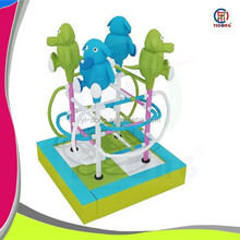 Top quality animal style indoor electric soft play for kids