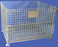 Foldable Steel Wire Mesh cage