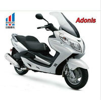 300cc moto scooter with MP3 /gas powerful motorcycle 2014 new products