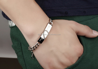 alibaba website new products stainless steel bracelet hand chain for men