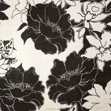 polyester chiffon floral print fabric 75d 100%polyester print