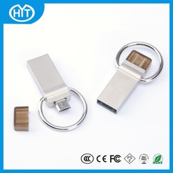 2014 new products for android mobile phone with otg,metal 500mb usb flash drive