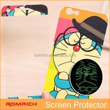 Cute glow cartoon animal Screen Film Protector for Apple iphone 6 plus 4.7 STICKER