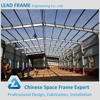 Construction Structural Steel Arched Roof Warehouse