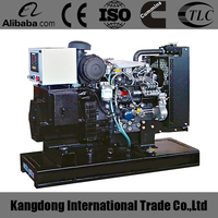 China brand water cooled 30kw generator set open type with high quality and cheapest price