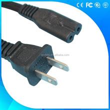 2 pin American UL non-polarized power cords