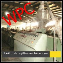 2012 newest material wpc making machine
