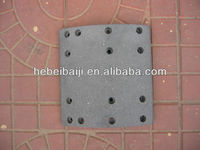 ISO 9001 Certification and Brake Assembly Type brake lining 4644