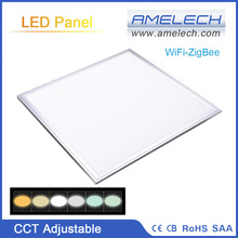 New Color Temp Adjustable 600x600 ZigBee Remote Control Motion Sensor LED Light