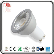 New product ce rohs es etl dimmable 5w gu10 warm white day white led spotlight