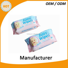 Baby wipes AAA quality 80pcs alcohol free with Aloe