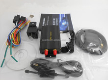Portable car gps tracker china manufacturer with long battery life TK103A