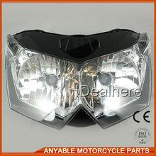 Gold supplier china motorcycle led headlight for KAWASAKI Z1000 07-09