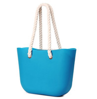 2015 Hot selling ladies fashion silicone beach bag