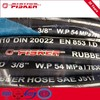 SAE 100R9 Steel Wire Spiral Reinforced Hydraulic Hose / Rubber Hose