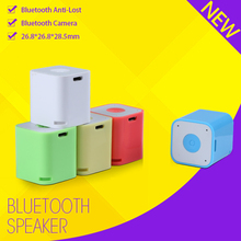 portable active wireless handsfree cube bluetooth speaker remote control for mobile phone