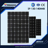 SP-130-140 M48 140W mono crystalline solar panel with high efficiency made in china