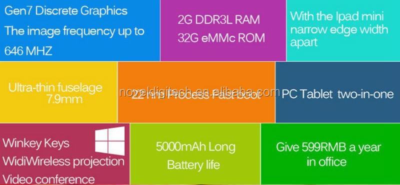 8.0 дюймов 1920*1200 IPS Экран Intel Z3736F Quad Core Двойной Загрузки Tablet PC с Windows 10 и Android 4.4 системы