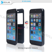 View Window Smart Slide Leather Case Flip Slim Cover For iPhone 6/6 Plus