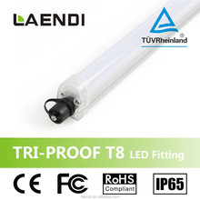 Gold product IP65 24W 900mm T8 waterproof led tube light for outdoor lighting