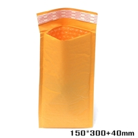 150*300+40mm Best Price Kraft Bubble Envelopes Padded Mailers Self-Seal Bags Packing Post