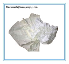 White cotton wiping rags for oil cleaning + cheap price