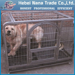 Metal wire cage / wire dog cage / Folding metal wire dog cage