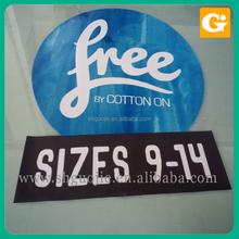 removable floor sticker/car sticker printing