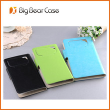 PU leather flip case cover for apple iphone 3g