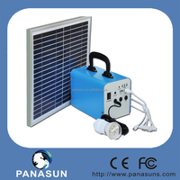 20W mini portable solar electricity generating system for home