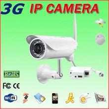 dual video camera outdoor 3G sim card security camera surveillance,microphone loudspeak remote by iphone