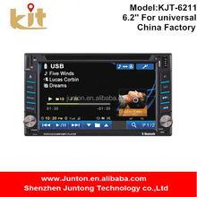 Multi language option panasonic car dvd player with rear view camera option