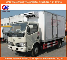 Mobile food truck for sale in China thermoking refrigerator truck mini food transport truck